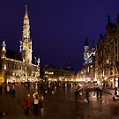 Grand Place by Lesley Williamson