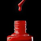 Red Drip by Jerry Deutsch