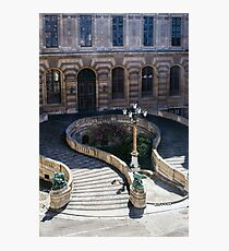 Louvre Staircase Photographic Print