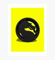 Mortal Kombat Art Print