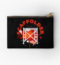 Scaffolding occupations shirt Studio Pouch