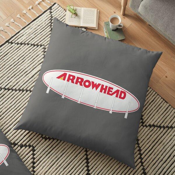 Arrowhead Stadium Scoreboard Floor Pillow