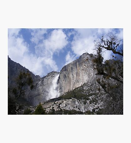 Windblown Falls Photographic Print