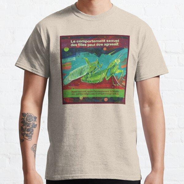 La Femme Fatale (La Mante Religieuse d'Afrique) Classic T-Shirt