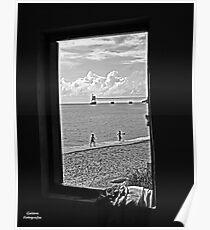 Throug the window Poster