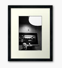 Bruce Willis? Framed Print