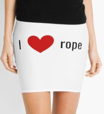 rope Mini Skirt