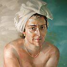 Woman in White by Valery Koroshilov