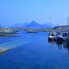 Fishing Harbour.Connemara.Ireland by EUNAN SWEENEY