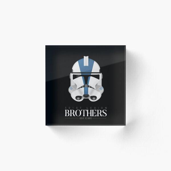 501st Legion Clone Trooper - Brothers Acrylic Block