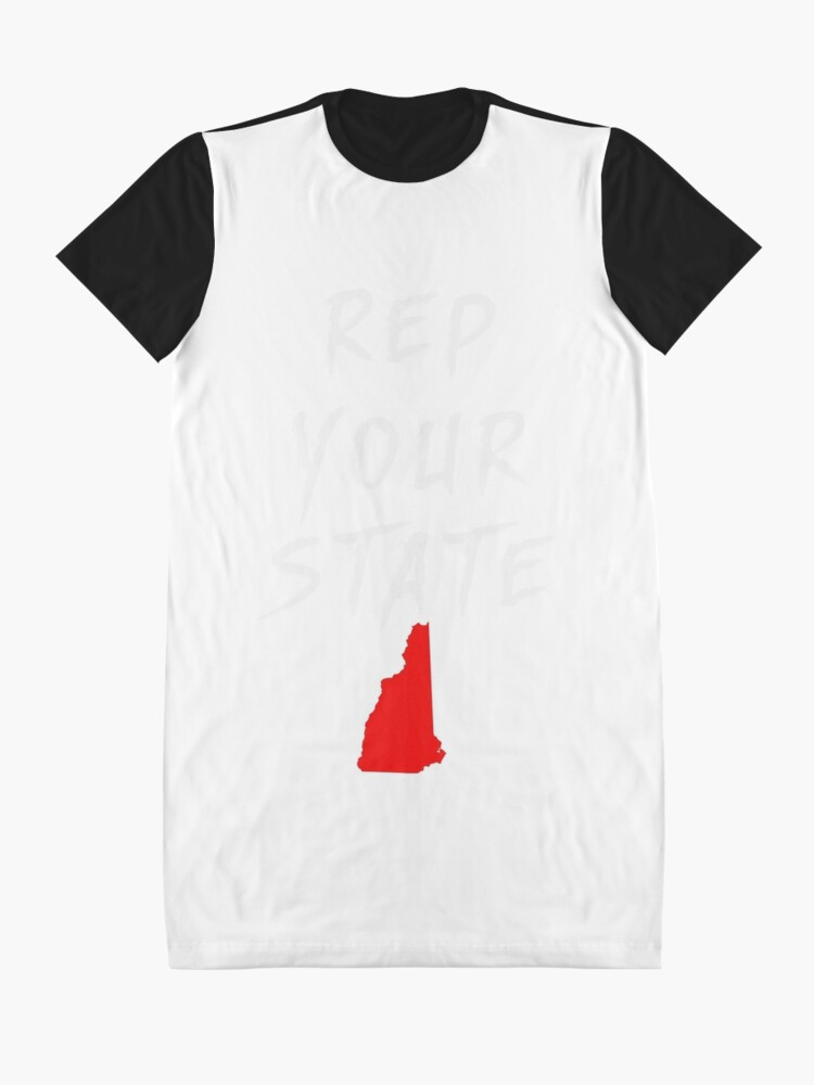 Alternate view of REP YOUR STATE NEW HAMPSHIRE Graphic T-Shirt Dress