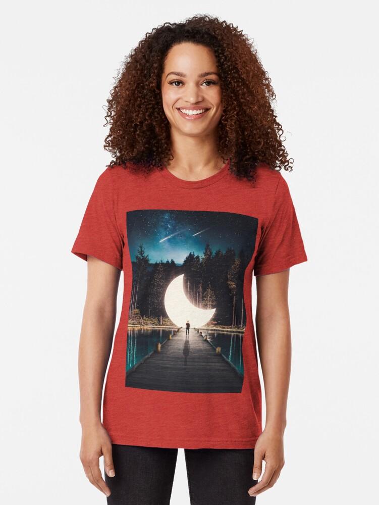 Alternate view of Grace Tri-blend T-Shirt