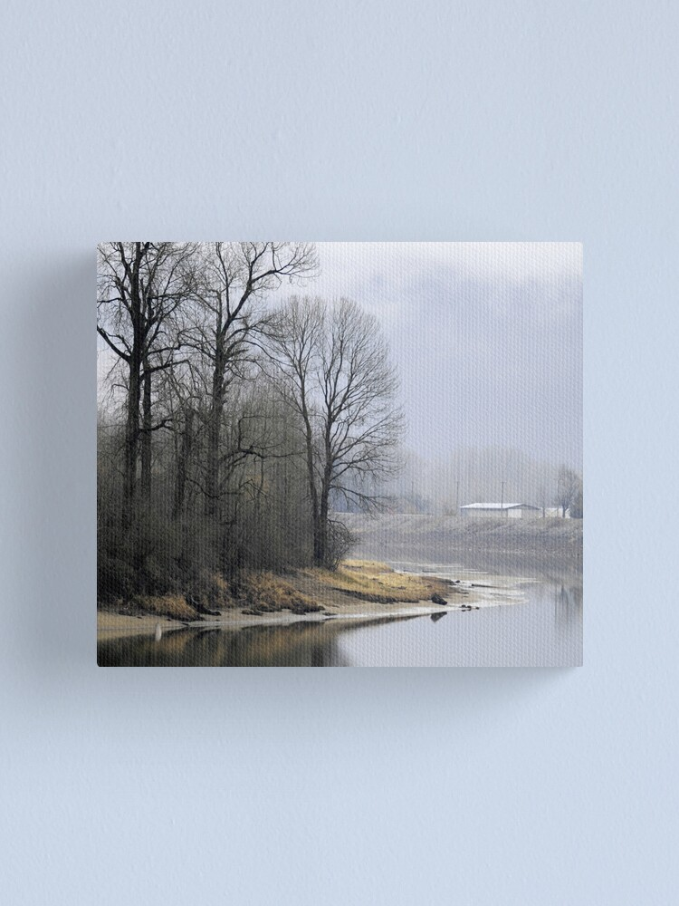Alternate view of Trees on the Slough Canvas Print