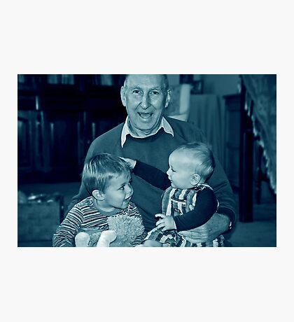 Three mischief makers Photographic Print