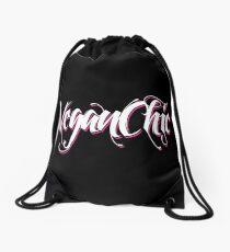 VeganChic ~ Majestic White Drawstring Bag