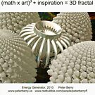 Fractal Math - Energy Generator by Peter Berry