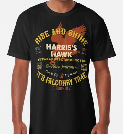 Harris's Hawk falconer's Supplies, Falconry Harris Hawkers Clothing and Gifts Long T-Shirt