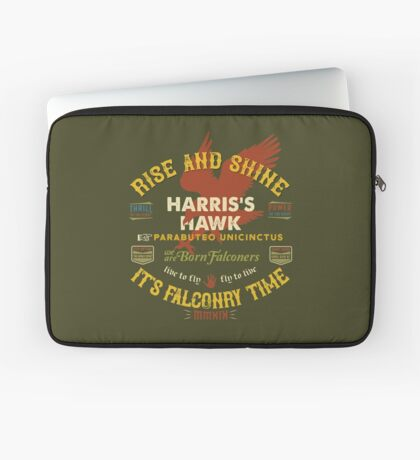 Harris's Hawk falconer's Supplies, Falconry Harris Hawkers Clothing and Gifts Laptop Sleeve
