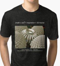 Fractal Math - Energy Generator Dark Tri-blend T-Shirt