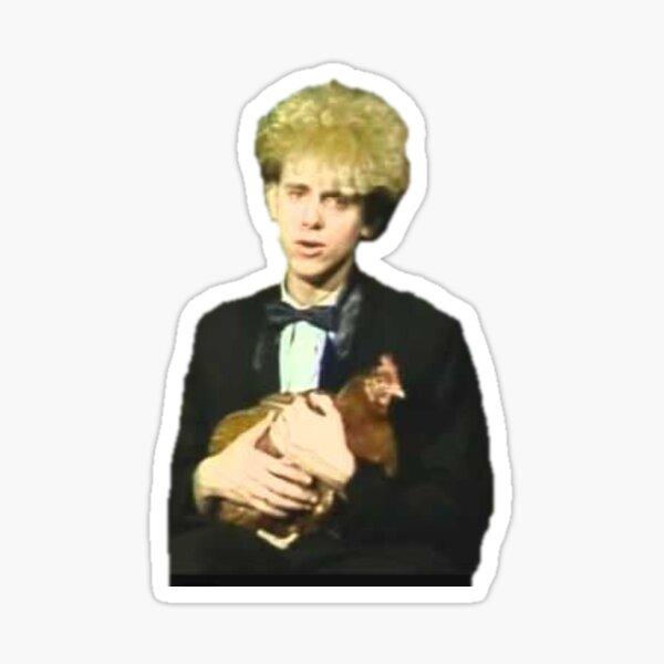 martin chicken gore Sticker