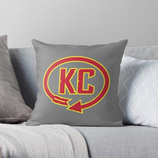 Kansas City Western Auto Sign T-Shirt Throw Pillow