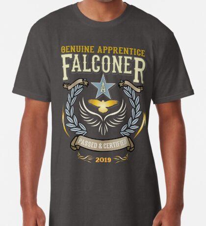 Congratulations! 2019 Apprentice Falconer's Classic Design Apparel and Gifts - 2019 Falconry Apprentice  Long T-Shirt