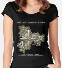 Double Julia Artifact - Dark Women's Fitted Scoop T-Shirt