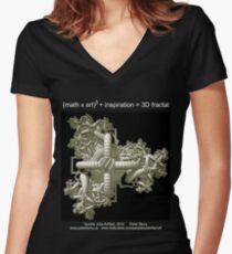 Double Julia Artifact - Dark Women's Fitted V-Neck T-Shirt