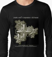Double Julia Artifact - Dark Long Sleeve T-Shirt