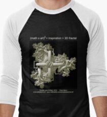 Double Julia Artifact - Dark Men's Baseball ¾ T-Shirt