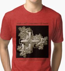 Double Julia Artifact Tri-blend T-Shirt