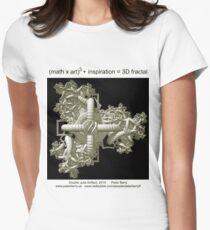 Double Julia Artifact Women's Fitted T-Shirt