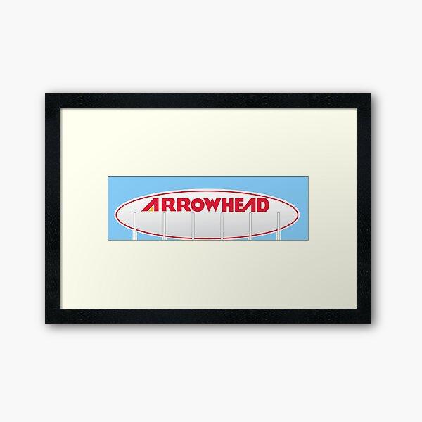 Arrowhead Stadium Scoreboard Framed Art Print
