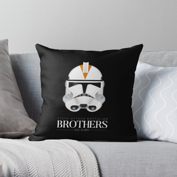 212th Attack Battalion Clone Troopers - Brothers Throw Pillow