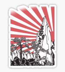 Japanese Landscape T Sticker