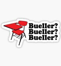 Bueller Sticker