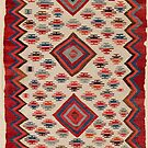 Kurdish Antique Turkish Kilim  by Vicky Brago-Mitchell