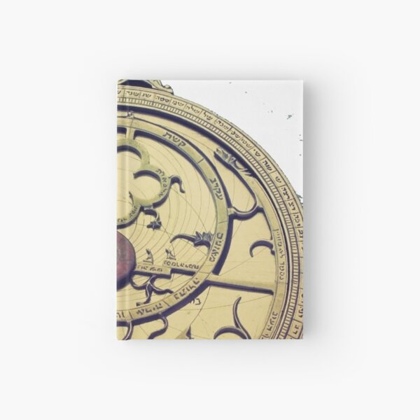 Museum of History of the Jews, Museu d'Història dels Jueus, #time, #clock, #antique, #watch, #old, #timer, #instrumentoftime, #oldfashioned Hardcover Journal