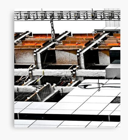 worksite Canvas Print