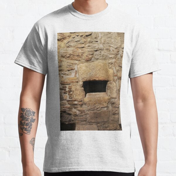#Wall #AncientHistory, #history, #architecture, #old, #ancient, #brick, #outdoors, #OldRuin, #archaeology Classic T-Shirt