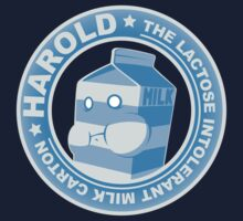 Harold: The Lactose Intolerant Milk Carton