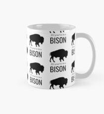 Es ist toll, ein Bison zu sein Tasse (Standard)