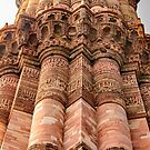 Qutub Minar Inscriptions 04 by Werner Padarin