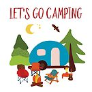Lets Go Camping by Sandra Hutter