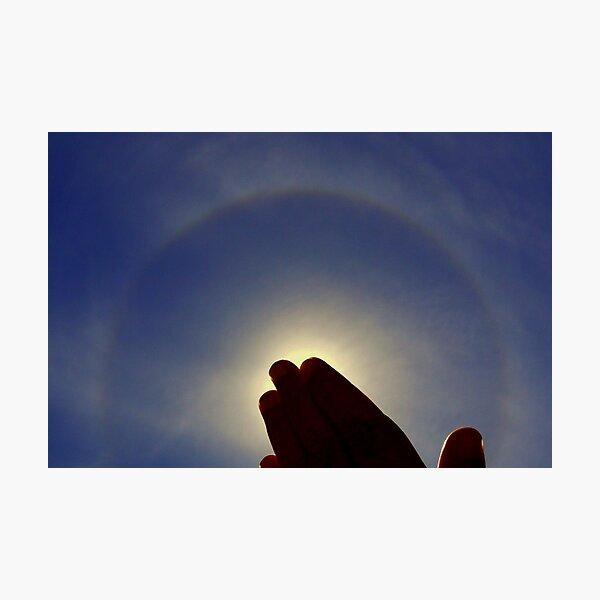 Solar Halo Photographic Print
