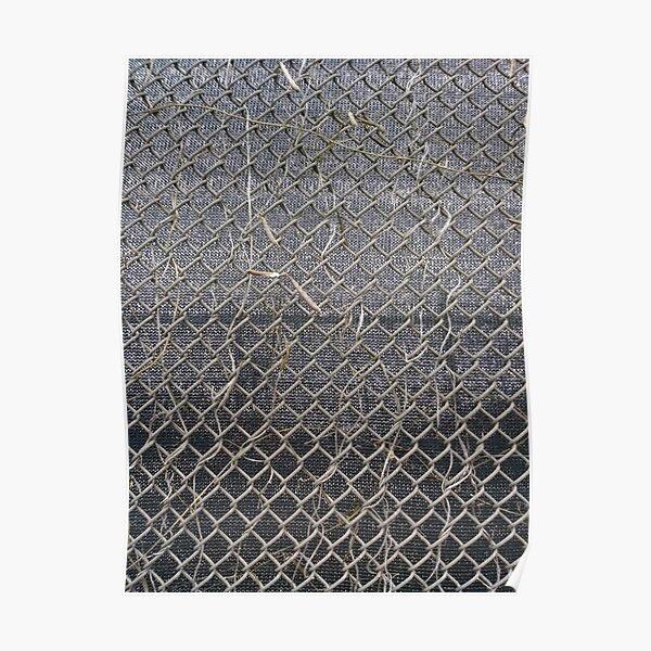 #pattern, #abstract, #design, #wallpaper, #rough, #net, #grid, #textured Poster