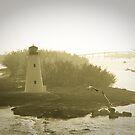 Harbor Lighthouse by Joe McTamney