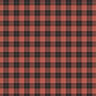 Simple tartan pattern in red by pASob-dESIGN