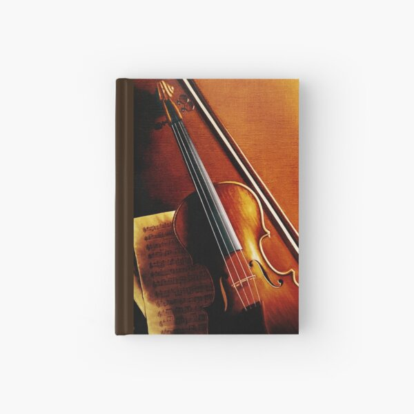 Stradivarius Violin Hardcover Journal