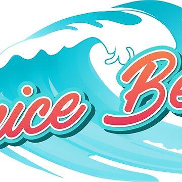 Venice Beach USA Typography by divotomezove